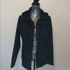 Nike dri fit zip up hoodie